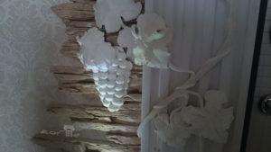 Виноградная лоза подсветка